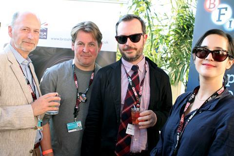 Kevin Jackson from Big Fish Films. Brendan J. Byrne producer of Jump and Glenn Leyburn and Lisa Barros D'sa, director Cherrybomb  -